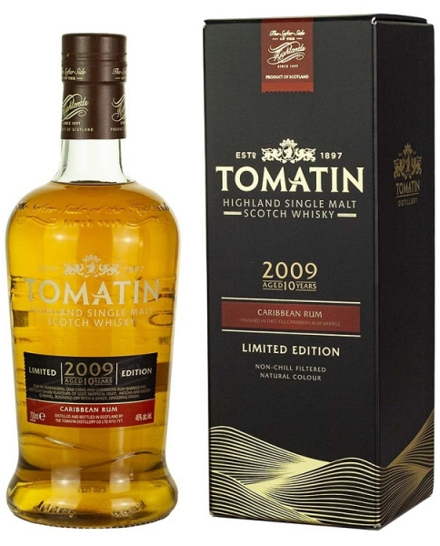 TOMATIN 10YO 2009 Caribbean Rum 70CL