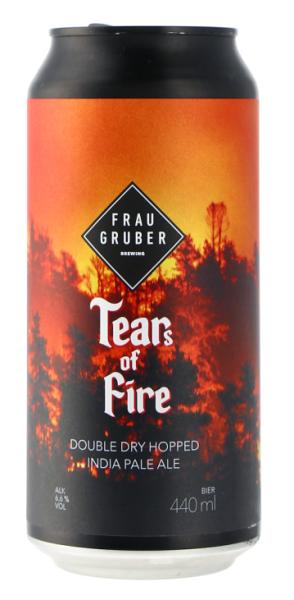 Frau Gruber TEARS OF FIRE 6,6% DDH IPA 44CL CAN