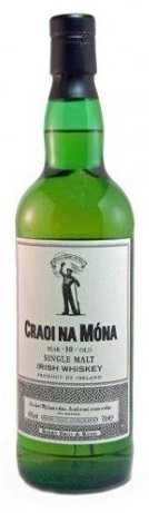 CRAOI NA MONA Irish Whiskey PEATED 70cl