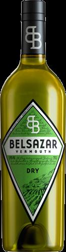 BELSAZAR VERMOUTH DRY 18% 0,7L