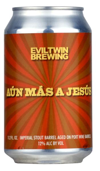 Eviltwin Brewing AUN MAS A JESUS 12% BA