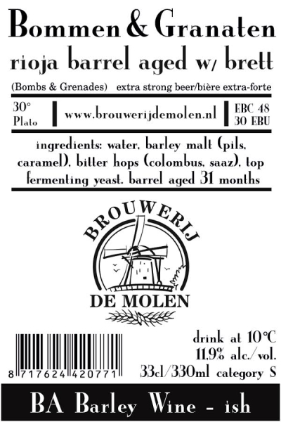 BOMMEN & GRANATEN Rioja BA Brett 11,9%