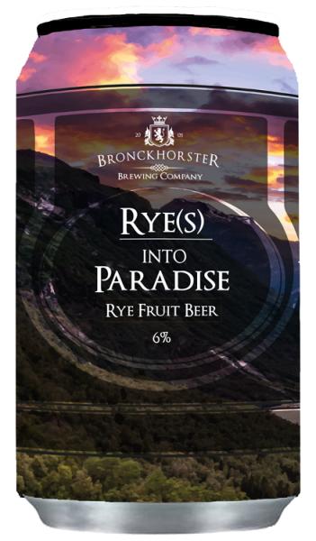 Bronckhorster RYE(S) into PARADISE 6% Rye Fruit 33