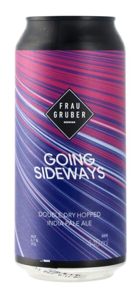 Frau Gruber GOING SIDEWAYS 6,7% DDH IPA 44CL CAN