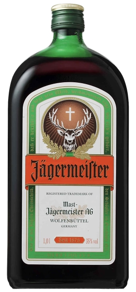JAGERMEISTER 35% 1 ltr