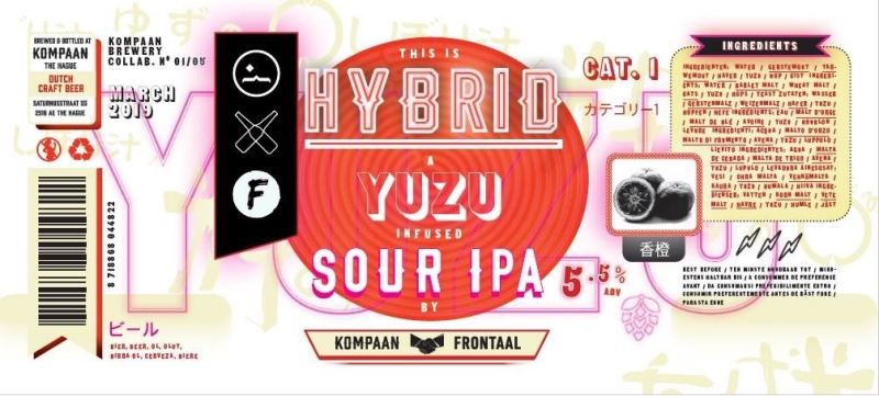 Frontaal HYBRID 5,5% SOUR IPA 33CL