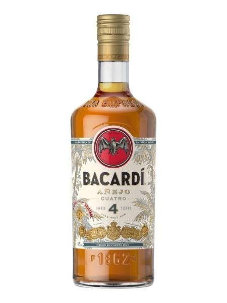 Bacardi ANEJO CUATRO 4YR 40% 70CL