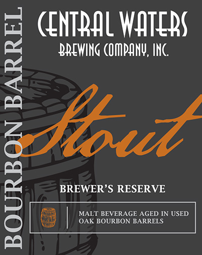 Central Waters STOUT 10,5% BBA 35.5CL