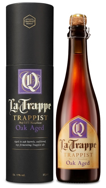 LA TRAPPE Quadrupel 11% OAK AGED Batch 37