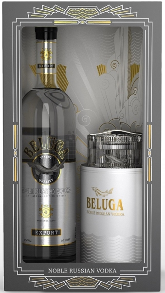 BELUGA NOBLE Russian Wodka 40% CAVIARBOX