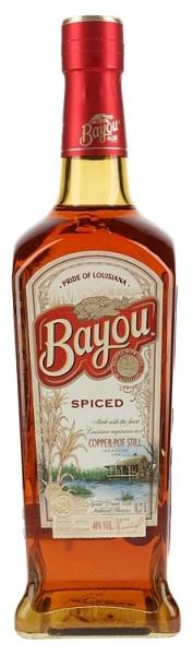 BAYOU Spiced Rum 40% 70CL