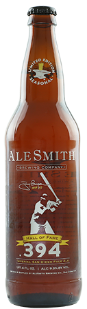 AleSmith HALL OF FAME 394 9% IM IPA 65CL
