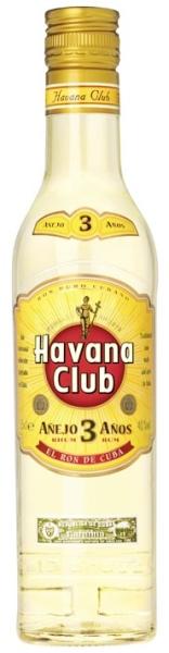HAVANA CLUB 3 YR White Rum 40% 0,35L