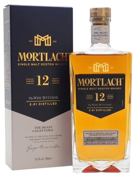 MORTLACH 12YO Single Malt Whisky 43,4%