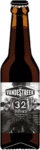 VandeStreek 32 HOURS 10,4% 33CL STOUT BA