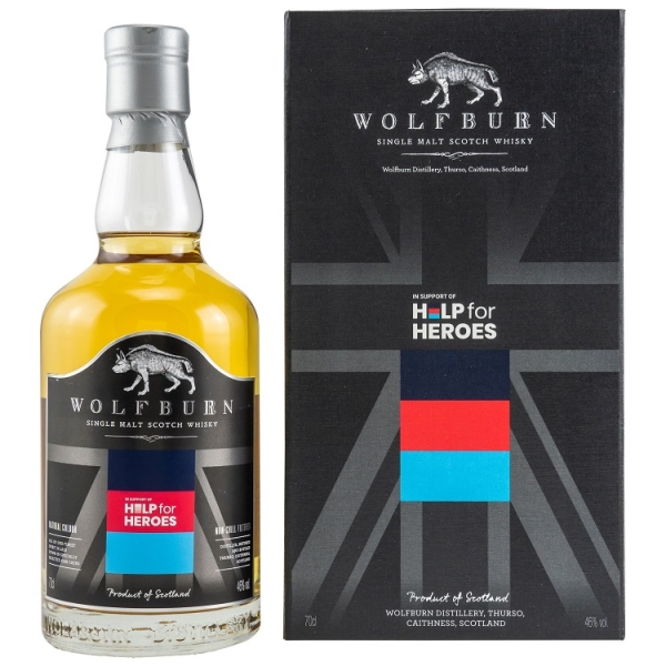 Wolfburn HELP FOR HERO'S 46% 70CL