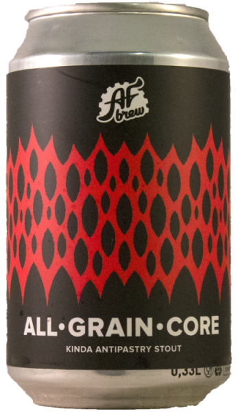 AF Brewery ALL GRAIN CORE 7% STOUT 33CL