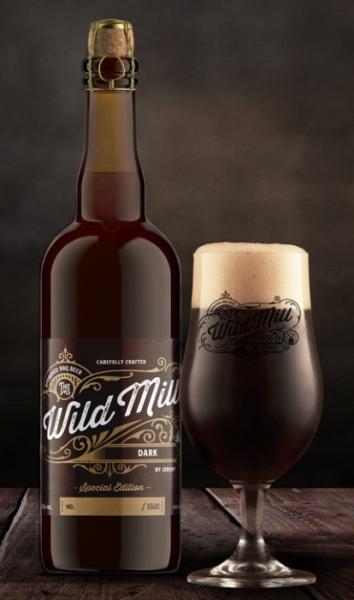 WILD MILL BBQ Bier by Jeremy DARK 11% 75