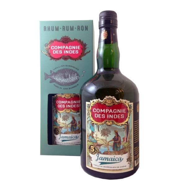 COMPAGNIE DES INDES Rum Jamaica 5YO 0,7L