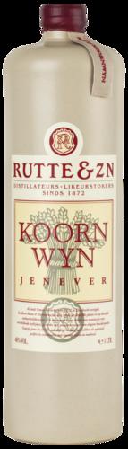 RUTTE Koornwijn 40% 100CL Stenen Kruik
