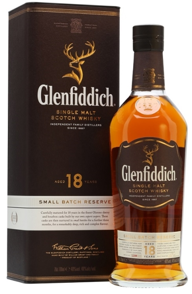 GLENFIDDICH 18YO 40% 70CL Whisky