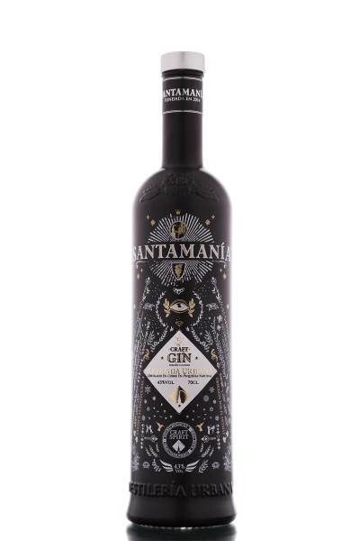 SANTAMANIA Madrid Dry GIN 41% LEYENDA