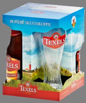 TEXELS RONDJE SKUUMKOPPE 3/30CL + glas