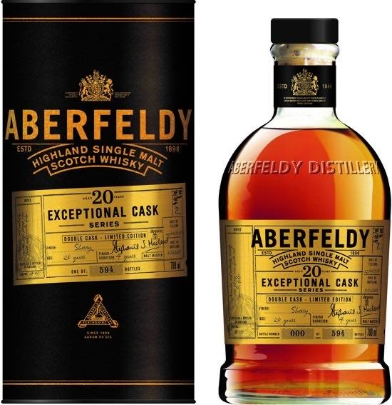 ABERFELDY 20YO 43% FF Sherry Finish 70CL