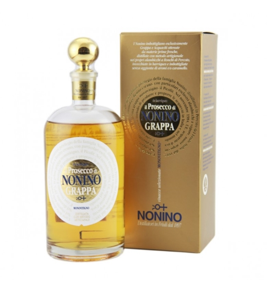 NONINO Prosecco GRAPPA  41% 70CL
