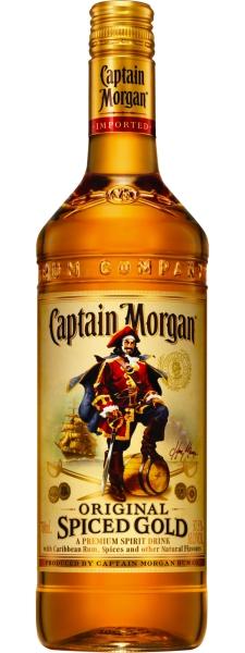 CAPTAIN MORGAN Spiced 35% Liter