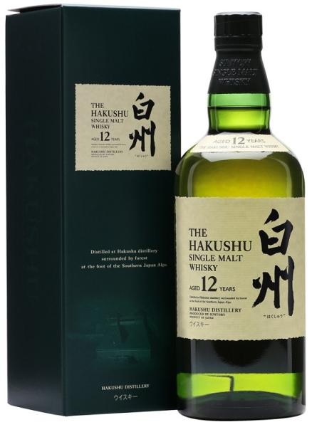 HAKUSHU 12YR Japanese Whisky SINGLE MALT